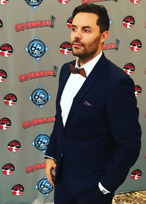 Jason Belmonte as seen in February 2018