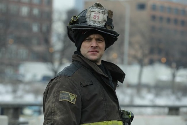 Jesse Spencer as seen on 'Chicago Fire'