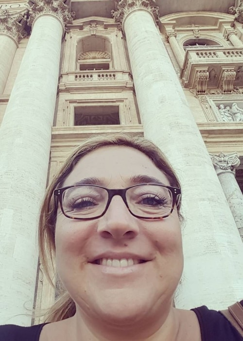 Jo Frost in a selfie in September 2017