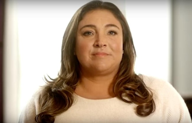 Jo Frost in a still justifying her calm personality