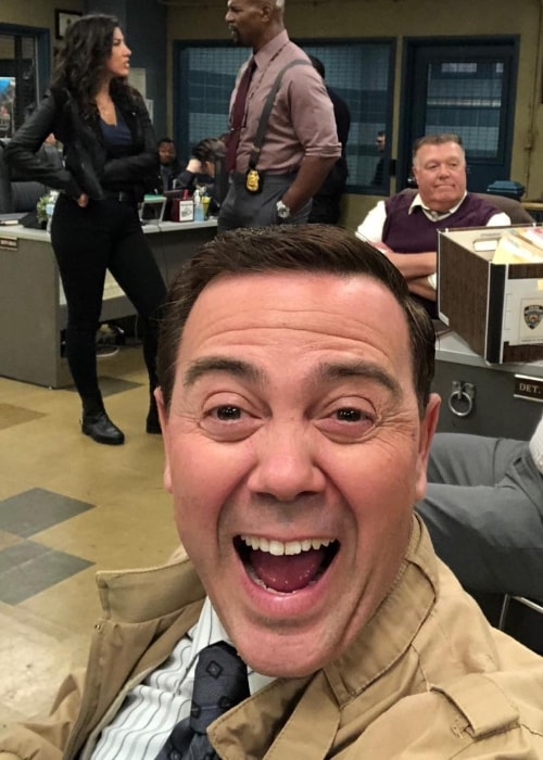 Joe Lo Truglio excited for a new episode of Brooklyn Nine-Nine in April 2018
