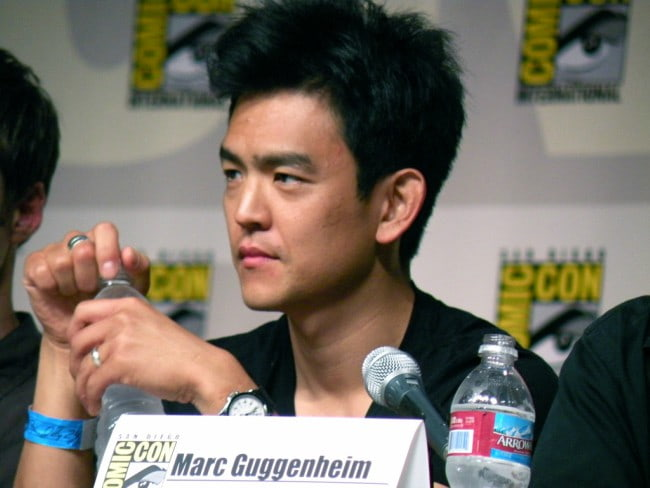 John Cho at the San Diego Comic-con in July 2009