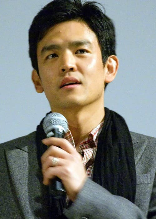 John Cho during the promotions of Harold & Kumar Escape from Guantanamo Bay in March 2008