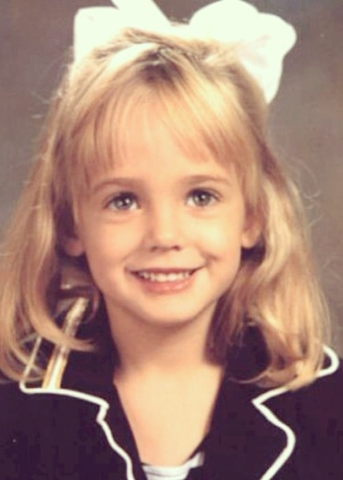 JonBenét Ramsey with her adorable smile