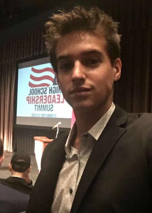 Josh Feldman in a selfie in July 2018