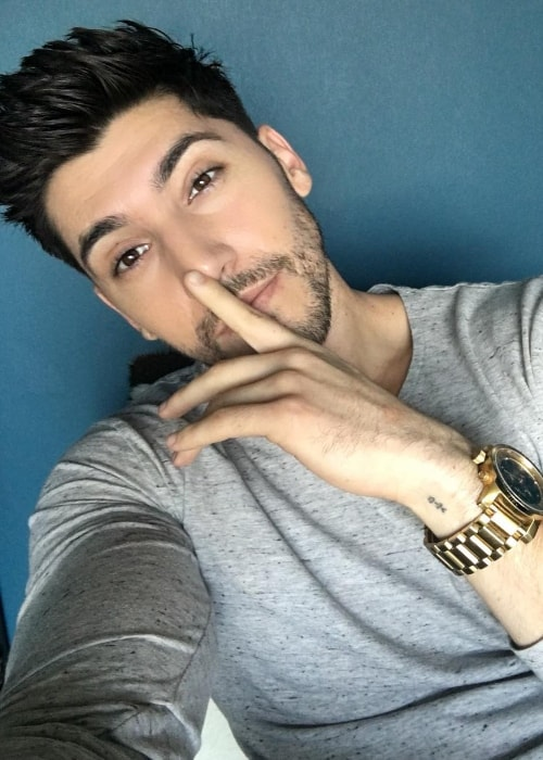 Josh Leyva in a selfie in August 2016