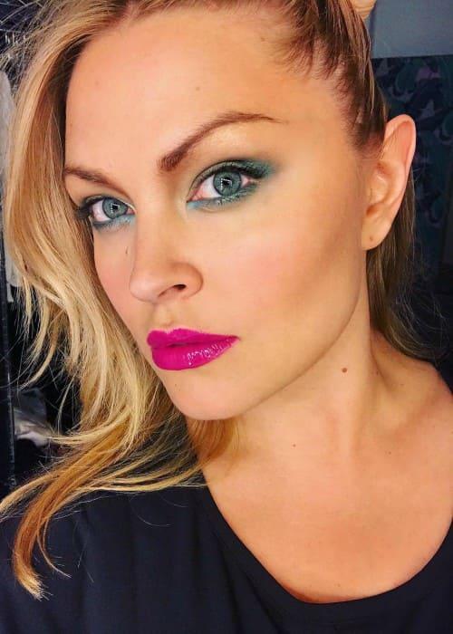 Justine LeGault in an Instagram selfie as seen in January 2018