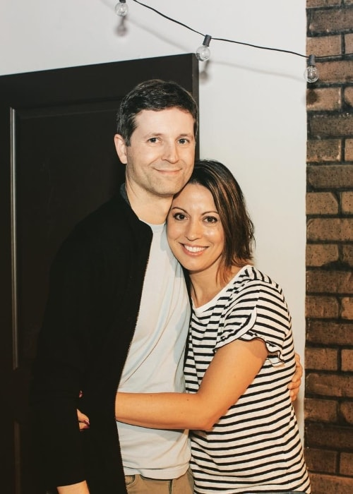 Kay Cannon with Eben Russell as seen in 2010
