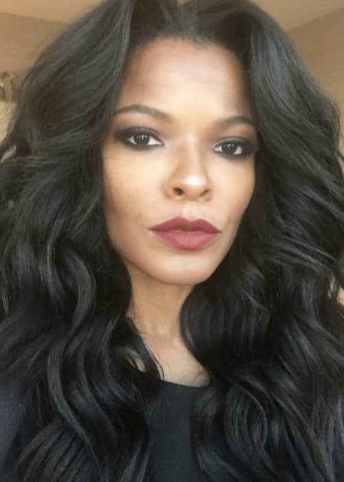 Keesha Sharp in an Instagram selfie as seen in March 2017