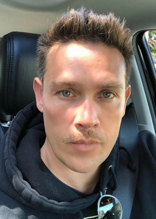 Kevin Alejandro in an Instagram selfie as seen in May 2018