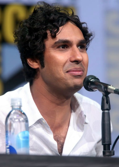 Kunal Nayyar speaking at the 2017 San Diego Comic Con International