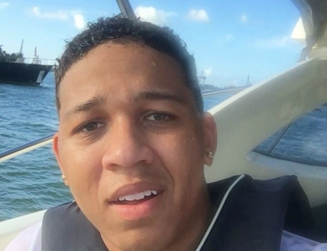 Lil Bibby in an Instagram selfie as seen in August 2016