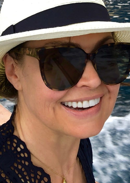 Lisa Wilkinson in an Instagram selfie as seen in August 2018