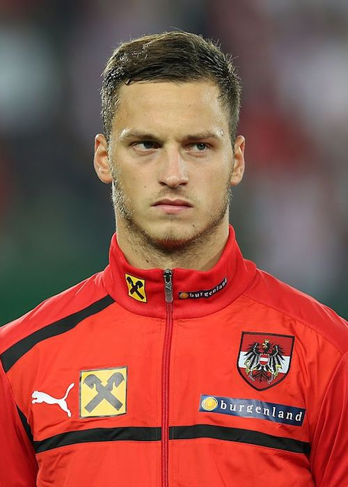 Marko Arnautovic during FIFA World Cup qualification match between Austria vs Germany in 2012