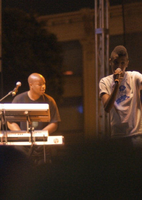 Matt Martians (Left) and Syd as seen in September 2012