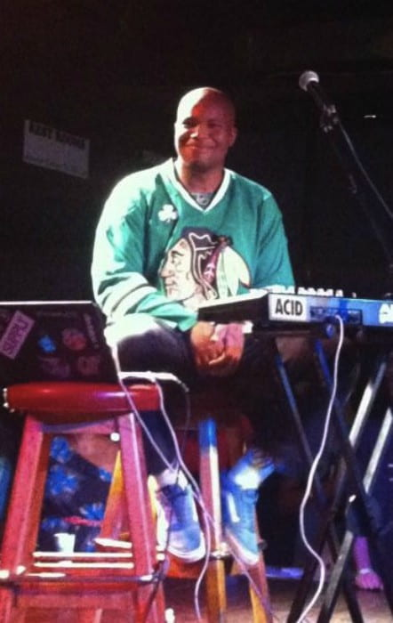 Matt Martians during a performace as seen in September 2012