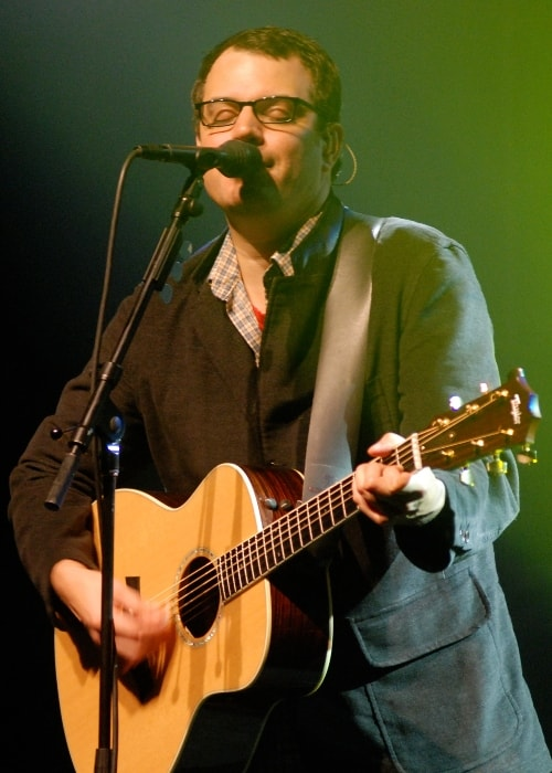 Matthew Good while performing at the Playhouse in Fredericton, New Brunswick in support of Hospital Music in October 2007