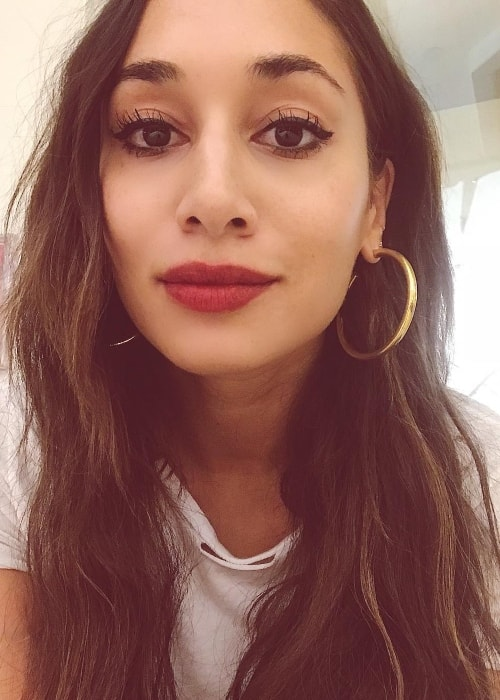 Meaghan Rath in a selfie in January 2018