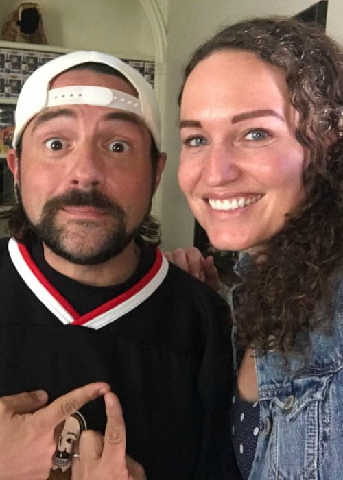 Megan Phelps-Roper and Kevin Smith as seen in October 2017