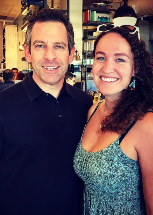Megan Phelps-Roper and Sam Harris as seen in October 2016