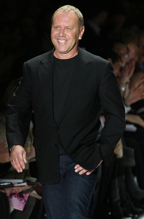 Michael Kors during a fashion show