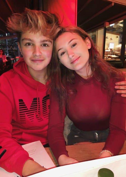 Morgan Hudson and Kiera Bridget as seen in April 2018