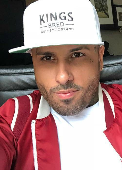 Nicky Jam in a selfie in August 2018