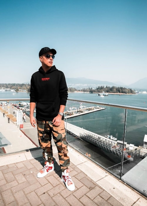 Nicky Romero as seen at Vancouver Harbour in August 2018