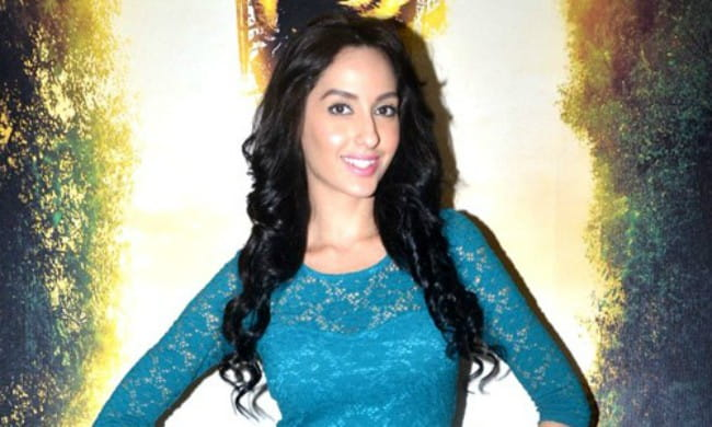 Nora Fatehi as seen in April 2015
