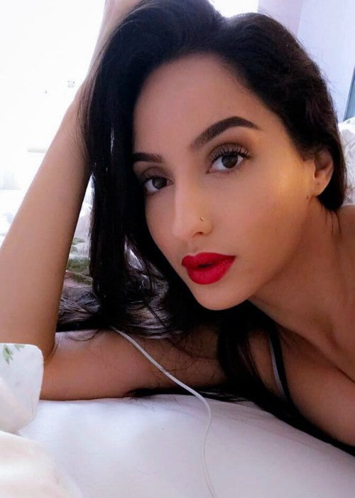 Nora Fatehi in an Instagram post as seen in August 2017