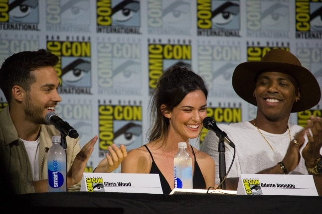 Odette Annable at the 2017 San Diego Comic-Con
