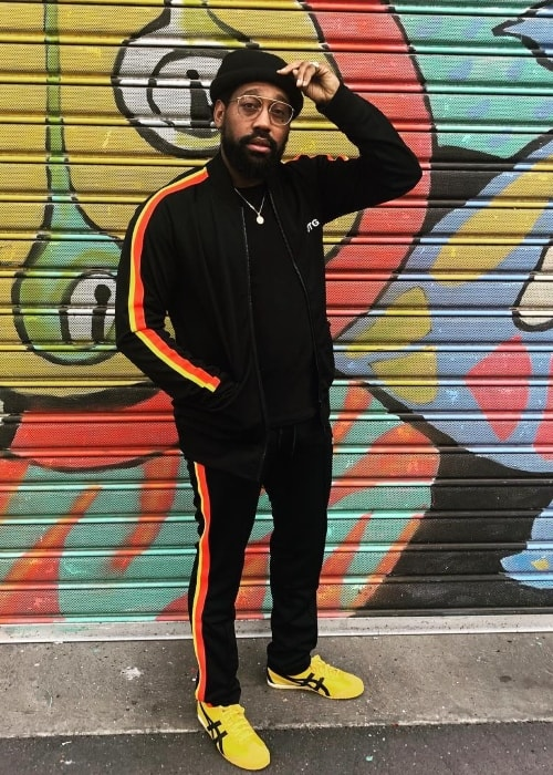 PJ Morton as seen in Melbourne, Australia in July 2018