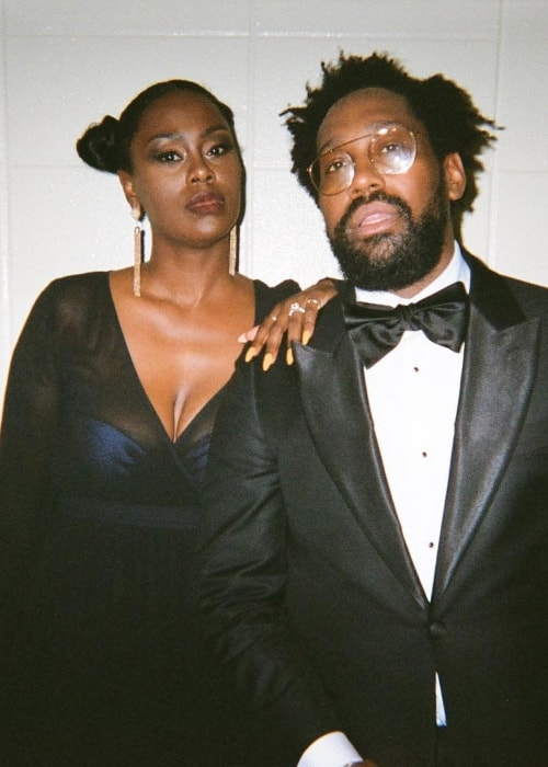 PJ Morton with Kortni Morton