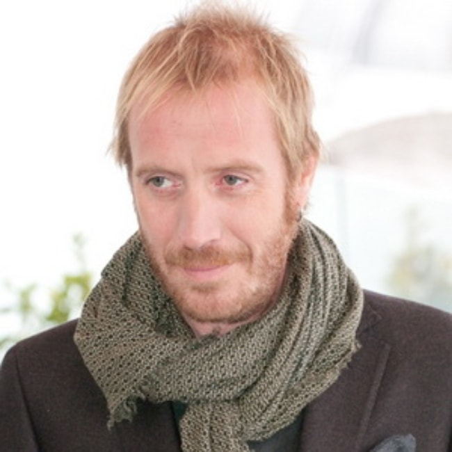 Rhys Ifans during an event in Moscow in October 2011