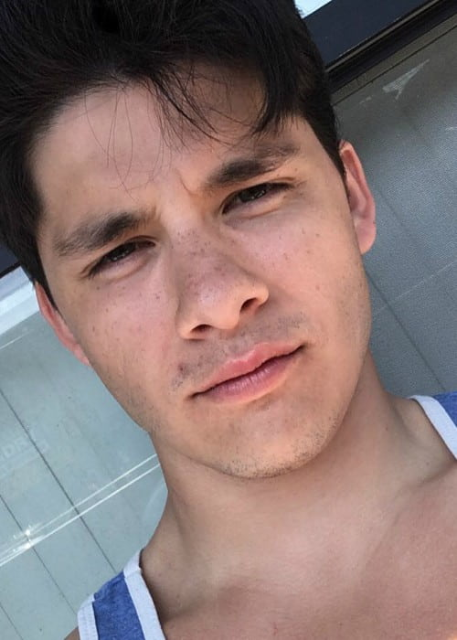 Ricardo Hoyos in an Instagram selfie as seen in April 2016