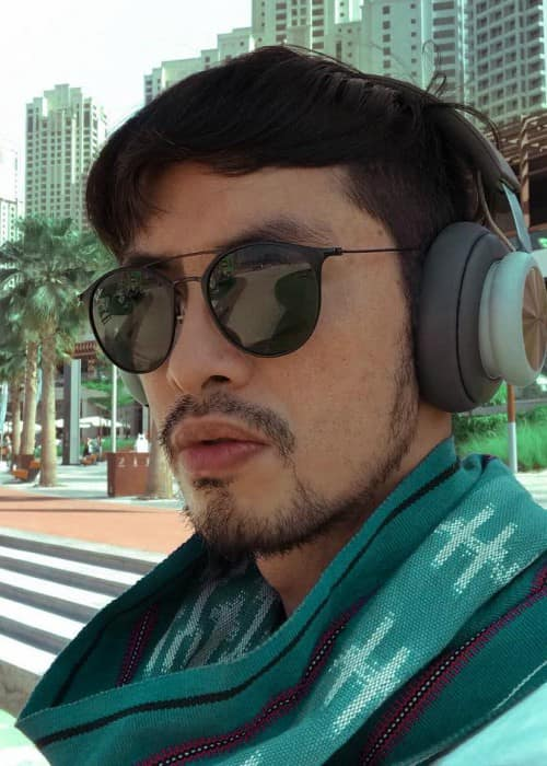 Rico Blanco in an Instagram selfie as seen in November 2017
