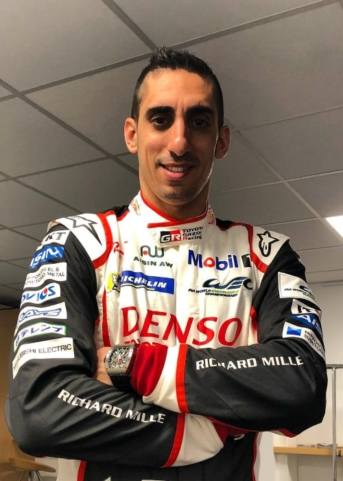 Sébastien Buemi as seen at Circuit Paul Ricard in April 2018