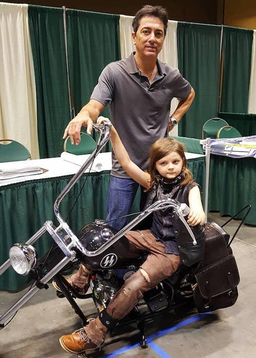 Scott Baio with Daryl Dixon