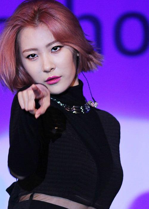 Sunmi during the Stern Concert in September 2013