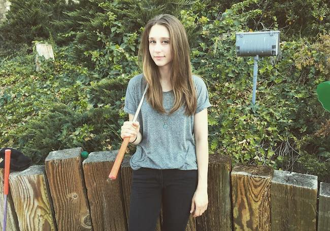 Taissa Farmiga birthday picture in August 2017