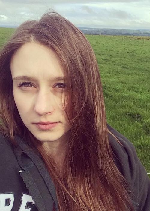 Taissa Farmiga in an Instagram selfie in Ireland in September 2016