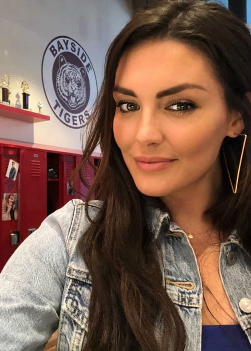 Taylor Cole in a selfie in August 2018