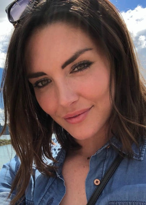 Taylor Cole in an Instagram selfie as seen in July 2018