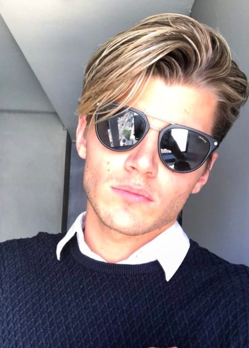 Twan Kuyper as seen in a selfie in April 2017