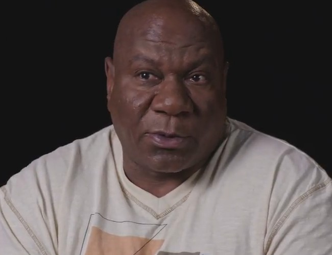 Ving Rhames during an interview in July 2018
