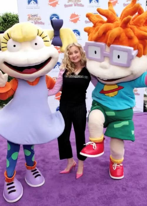 Voice actress Christine Cavanaugh (Middle) during an event