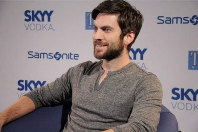 Wes Bentley with his charming smile