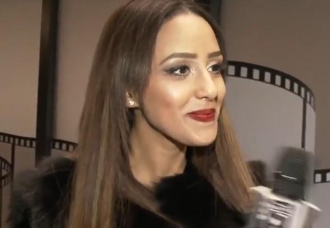 Zaina Dridi during an interview in December 2015