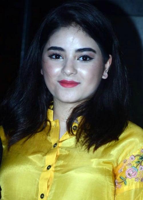 Zaira Wasim at the success bash of Secret Superstar in 2018