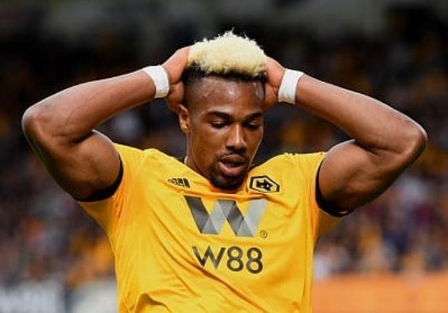 Adama Traoré as seen during a game